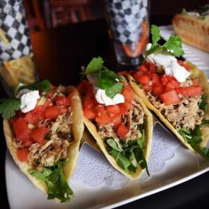 Pork Watermelon Tacos